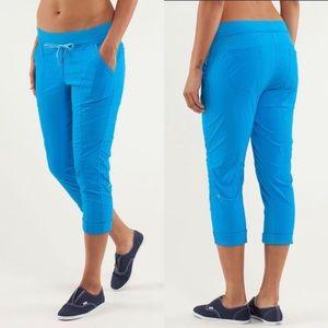 Lululemon Street to Studio Beach Blanket Blue Pant